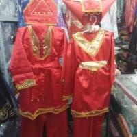 Jual Baju Adat Padang anak laki - laki ukuran M Murah