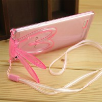 Softcase BUNNY EAR Oppo R5 / R7 / R7s / Joy 3 Cover TPU Case HP Casing