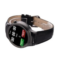 Onix Smartwatch S3 Leather Heart Rate - Hitam
