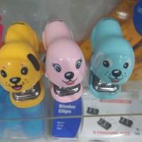 Stapler Cute Hewan Anjing / Mini Stapler Set Cute Unik Lucu