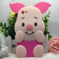 Iphone 6 6S Plus 4,7 Silicon 3D Kartun Disney Pig Baby Softcase Hp