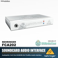 BEHRINGER SOUNDCARD FCA202 FIREWIRE for Recording AUdio Interface