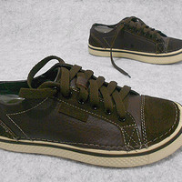 Exclusive crocs hover lace up, sepatu pria, sepatu kulit cowok Terbaik
