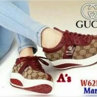 sepatu gucci 6212 maroon