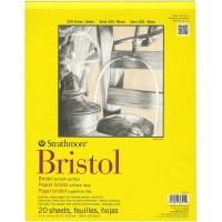 "Strathmore 300 Series Bristol 11"" x 14"" - 20 Sheets"