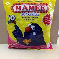 Mamee Monster Noodle snack rasa barbeque