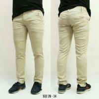 Jual Celana Chino cream cerah 85 / jeans / jogger Murah