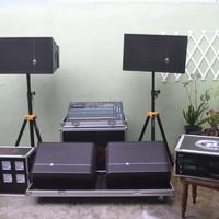 Sewa Sound System Paket Silver