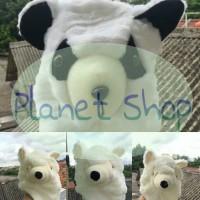 Animal Hat Panda, Wolf. ala Awkarin Gaga