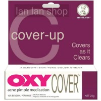 Oxy Cover 10 acne pimple medication obat jerawat concealer