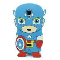 softcase 3d marvel Captain america Samsung Galaxy S4 / I9500 soft case