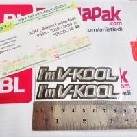 emblem logo lambang i'm im vkool i'mV-kool v-kool
