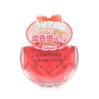 CANMAKE CREAM CHEEK BLUSH PALETTE - [CL-05 CLEAR HAPPINESS) ORIGINAL