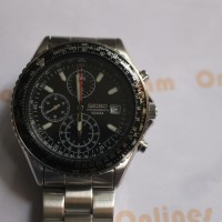 Seiko Men's SND253 Tachymeter Chronograph Jam Tangan Pria SND253P1