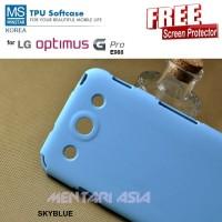 Softcase LG Optimus G Pro E988 : MINSTAR Korea TPU Softcase + FREE SP