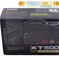 XFX XT Series 500W 80PLUS BRONZE P1-500B-XTFR - PSU PURE by Seasonic