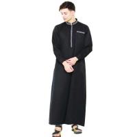 Jual Baju Gamis Pria hitam Java Seven MMT 024 murah asli ori original Murah
