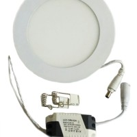 Jual Downlight LED Panel Tipis 9W Square / Round / Bulat Murah