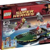 LEGO 76006 MARVEL SUPER HEROES - Iron man Extremis Sea Port Battle