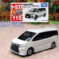 Tomica No 115 Toyota Voxy Miniatur Mobil Diecast Takara Tomy Reguler