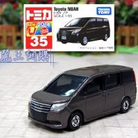 Tomica No 35 Toyota Noah Miniatur Mobil Replika Diecast Takara Tomy