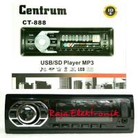 HEAD UNIT SINGLE DIN CENTRUM CT-888 BLUETOOTH TAPE MOBIL USB MP3 FM
