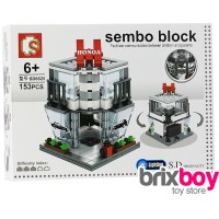 Jual Lego Sembo City Block - Honda Showroom 153pcs (Sembo SD6525) Brixboy Murah