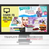 Template Desain Cover Facebook & Sosmed untuk Promosi Bisnis