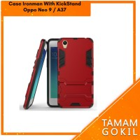 Case Ironman Oppo neo 9 / A37 Hybrid Series With Kick Stand