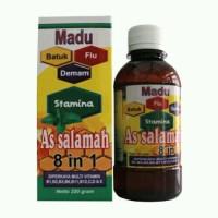 Madu As Salamah 8 in 1 Obat Batuk / Flu / Demam / Stamina