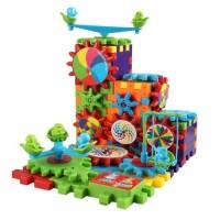 FUNNY GEAR BRICK / MAINAN EDUKASI ROBOT LEGO BERGERAK MODEL UNIK