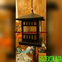 lampu gantung dekorasi rumah kap pilar taman bisa led philips hannochs
