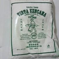 Tepung Sagu Tani 1kg / Tapioka / Aci / Kanji / Merk Tirta Kencana