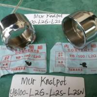 Mur Leher Knalpot/Baut Leher Knalpot Yamaha YB100-L2G-L2S-L2SN