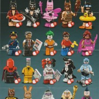 Jual Lego Minifigure Batman Movie ( Limited Edition ) - Complete Set Murah