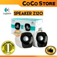 Jual LOGITECH Z120 MINI STEREO SPEAKER PORTABLE LAPTOP/PC USB Murah
