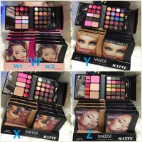 BUKU MAKEUP KIT - Eyeshadow Dompet Kaku Tutup Magnet / 5D NEW ALL IN 1