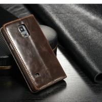 Genuine Leather Case Casing Kulit Original Asli Samsung Galaxy S5