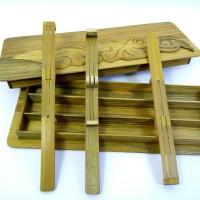 Karinding Bambu Alat Musik Tradisional Jawa Barat 3 pcs + Kotak