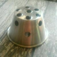 Cetakan Kue Bolu Kukus B Bahan Aluminium (Isi 1Lusin)