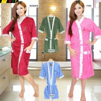 Kimono Handuk Dewasa Bahan lembut adem serap air tidak berat halus
