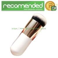 Kuas Make Up Blush On Foundation Make Up Brush - White