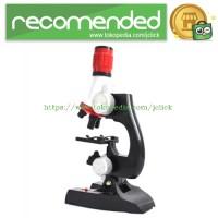 Mikroskop Edukasi dengan Pembesaran 1200X - Black