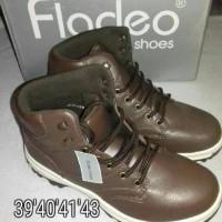 sepatu sandal cowok branded murah merk nevada merk fladeo