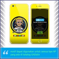 Garskin HP gambar Valentino Rossi The Doctor Yellow stiker