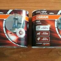 Promo! Osram H4 NBR Laser ( NBL ) 12V 60/55W , free kanebo multifungsi