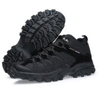 Sepatu Boot Gunung/Hiking Wanita - SNTA 601 BLACK MURAH
