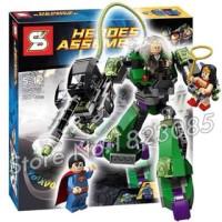 lego kw power armor lex luthor sy 330