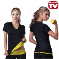 Jual BAJU HOT SHAPER SUIT FULL PEMBAKAR LEMAK BODY OLAHRAGA FITNES GYM TOP Murah