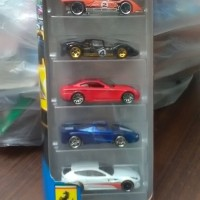 Hot Wheels Ferrari 5 pack